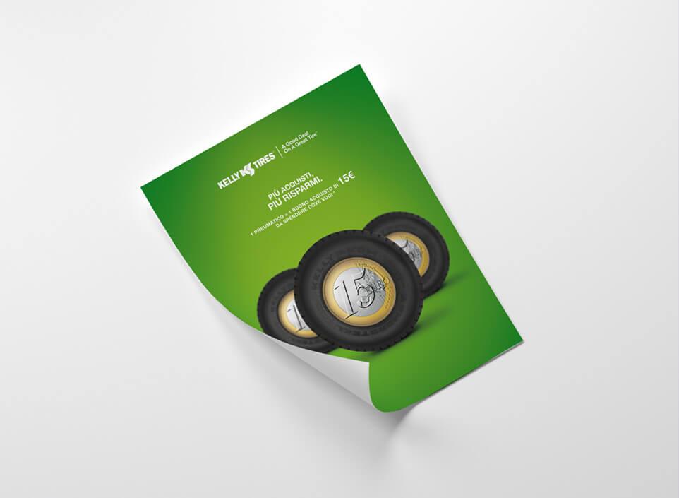 e-commerce Kelly Tires - KF ADV agenzia di comunicazione Vicenza