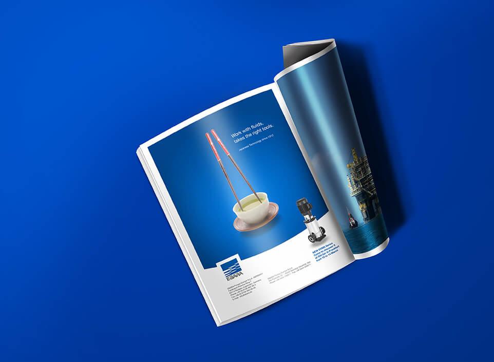 Brand e Adv Ebara Pumps - KF ADV agenzia di comunicazione Vicenza