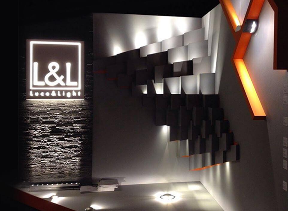 Brand identity settore illuminazione - KF ADV agenzia di comunicazione Vicenza