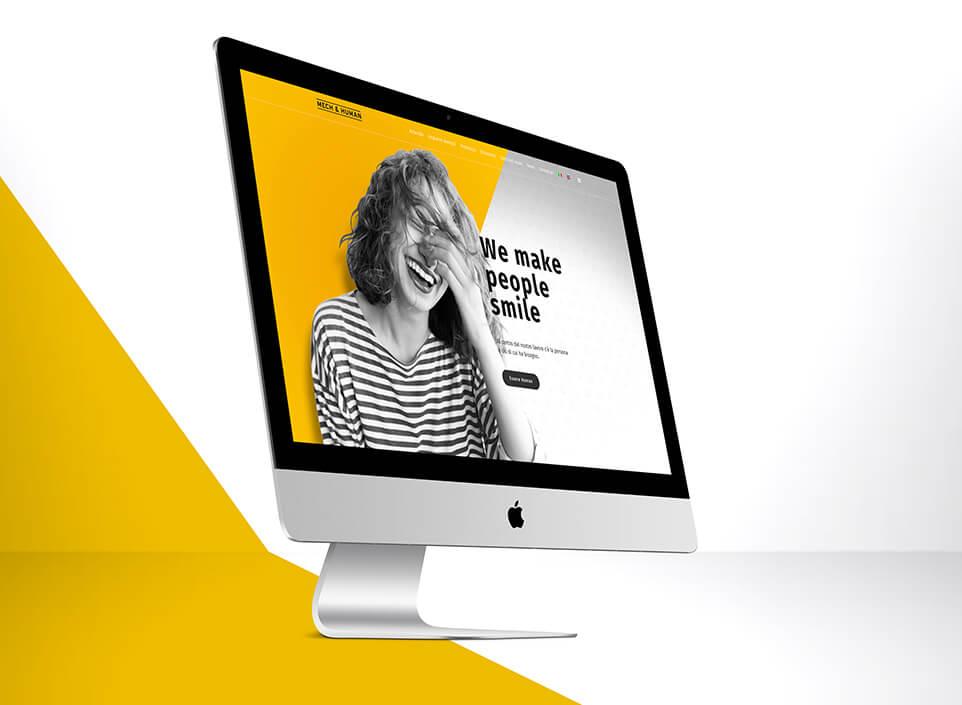 web design - agenzia di comunicazione KF ADV