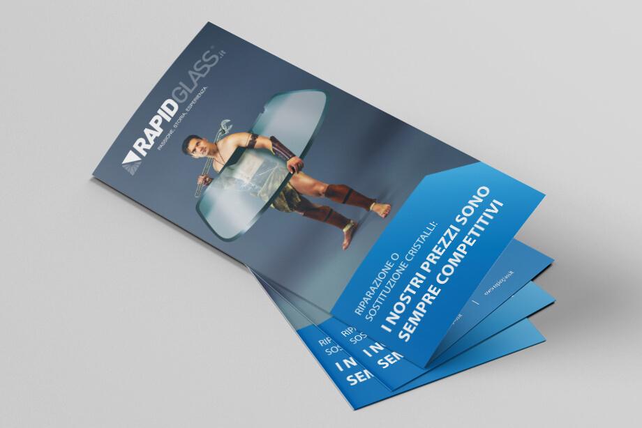 visual identity Rapidglass - KF ADV agenzia di comunicazione Vicenza